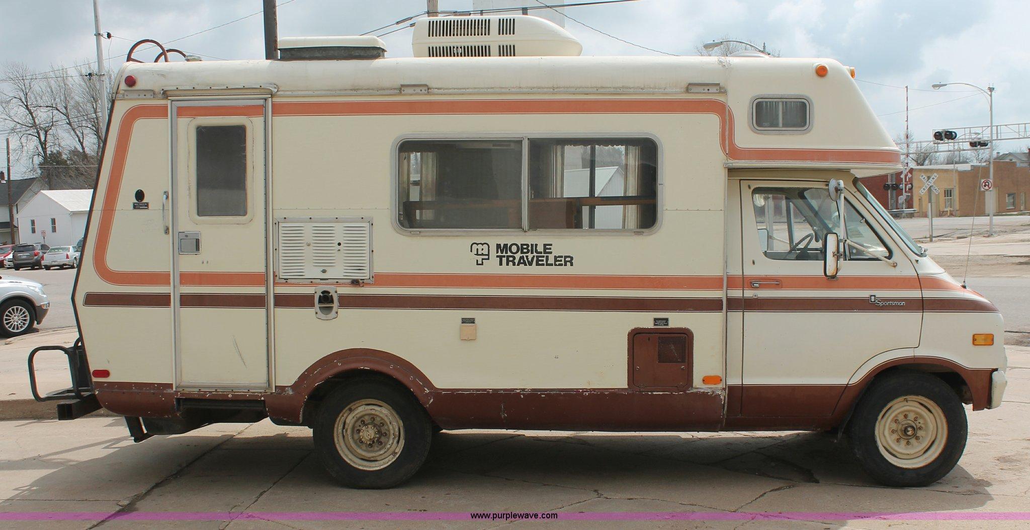 Honey 1976 Dodge Motorhome Wiring Diagram Trusted Diagrams Sportsman 1978 F30 Mobile Traveler Camper Item E3347