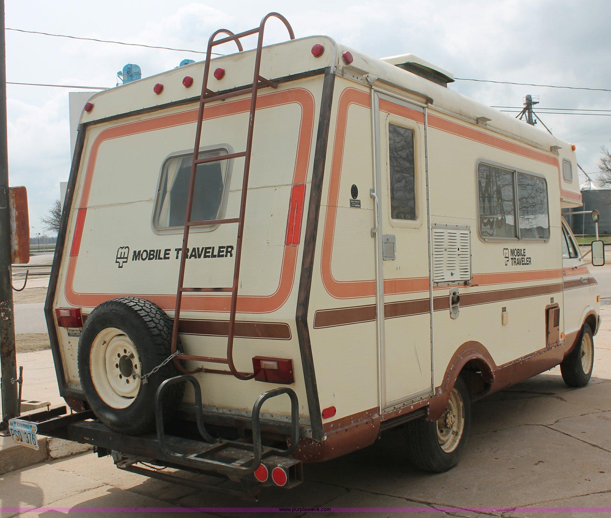 1978 Dodge F30 Sportsman mobile traveler camper | Item E3347