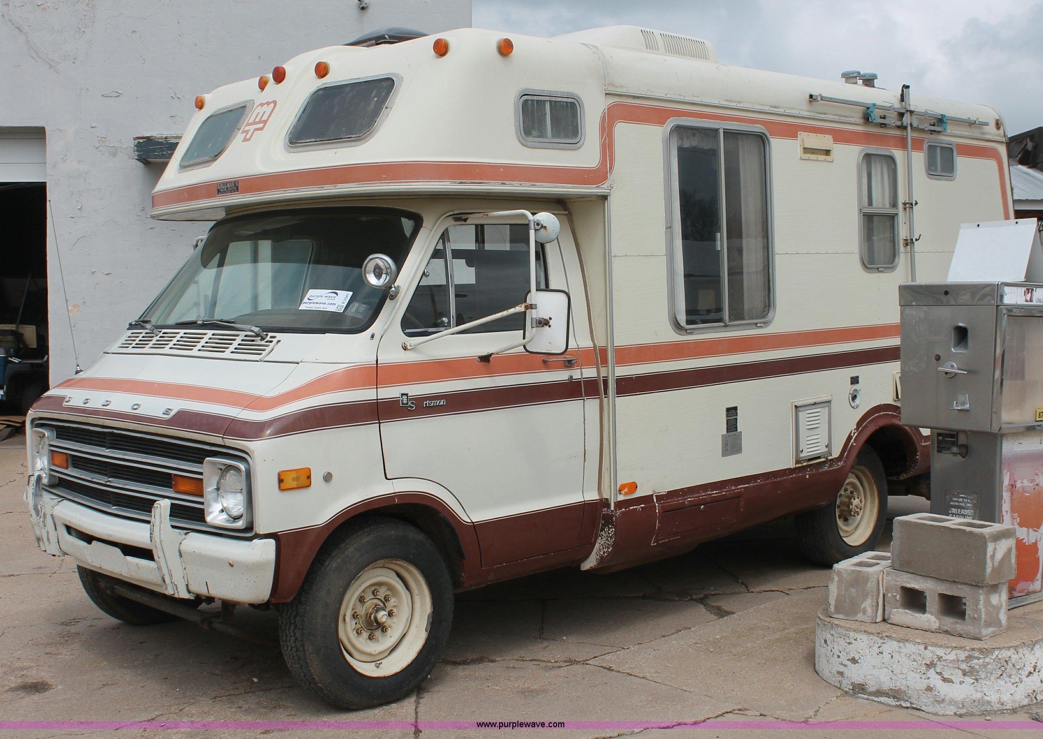 1978 Dodge F30 Sportsman Mobile Traveler Camper Item E3347 1976 Rv Wiring Diagram Full Size In New Window