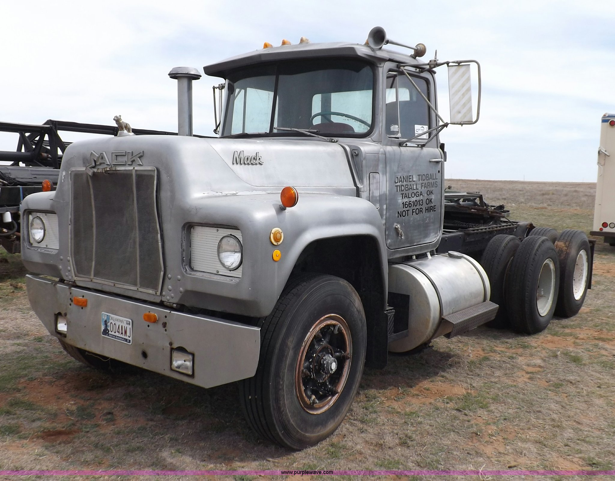 1969 mack truck wiring 1969 mack r600 semi truck item f6493 5 1 2013  1969 mack r600 semi truck item f6493