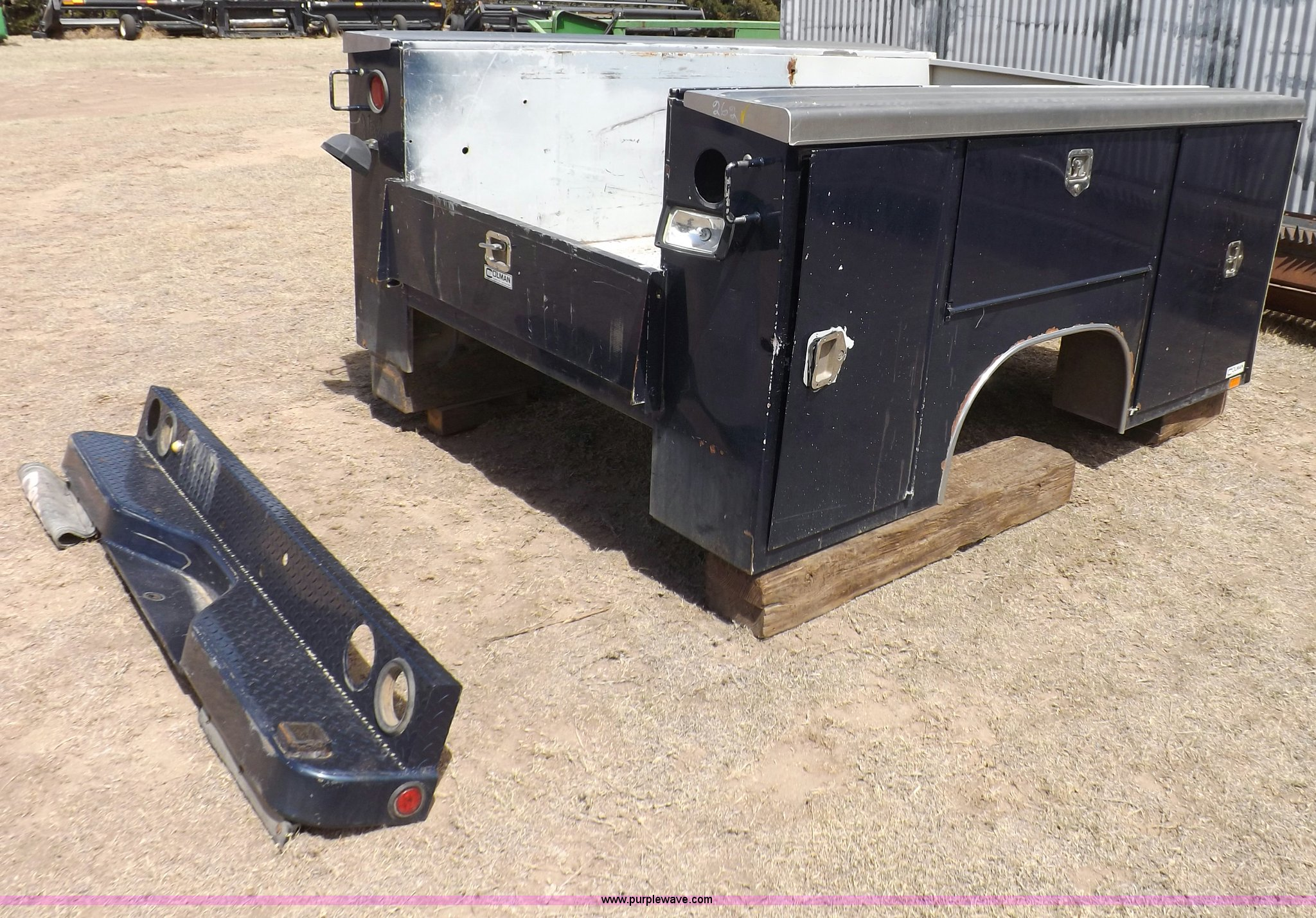 Utility Truck Beds For Sale >> Harbor Utility Truck Bed Item F8746 Sold May 1 Midwest