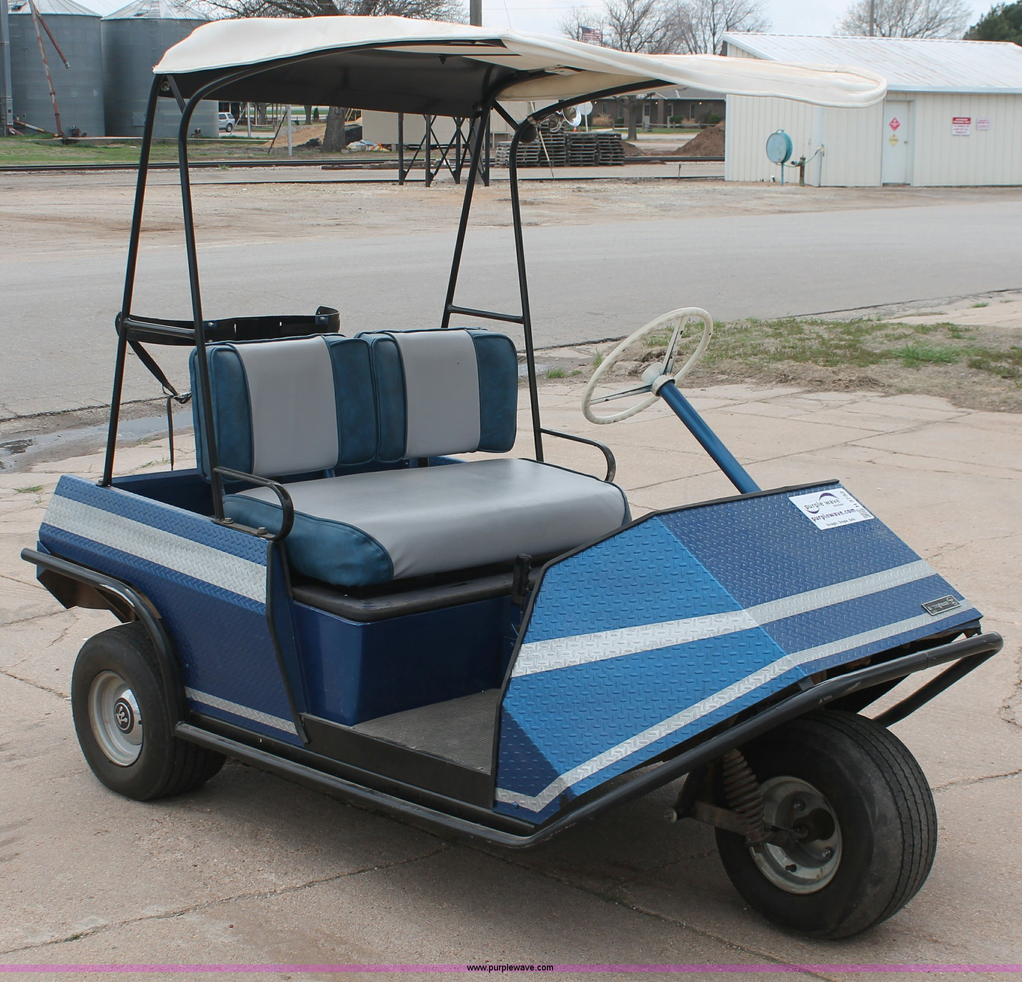 Westinghouse 437 electric golf cart | Item H3732 | SOLD! May...