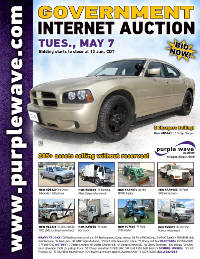 View May 7 Government Auction flyer