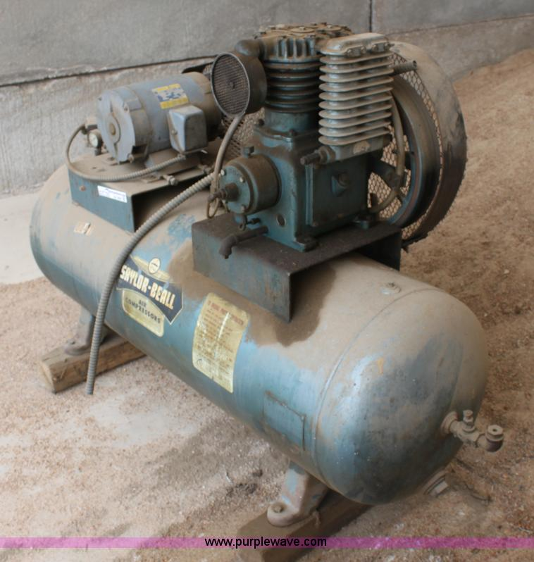 Saylor Beall Air Compressor No Reserve Auction On