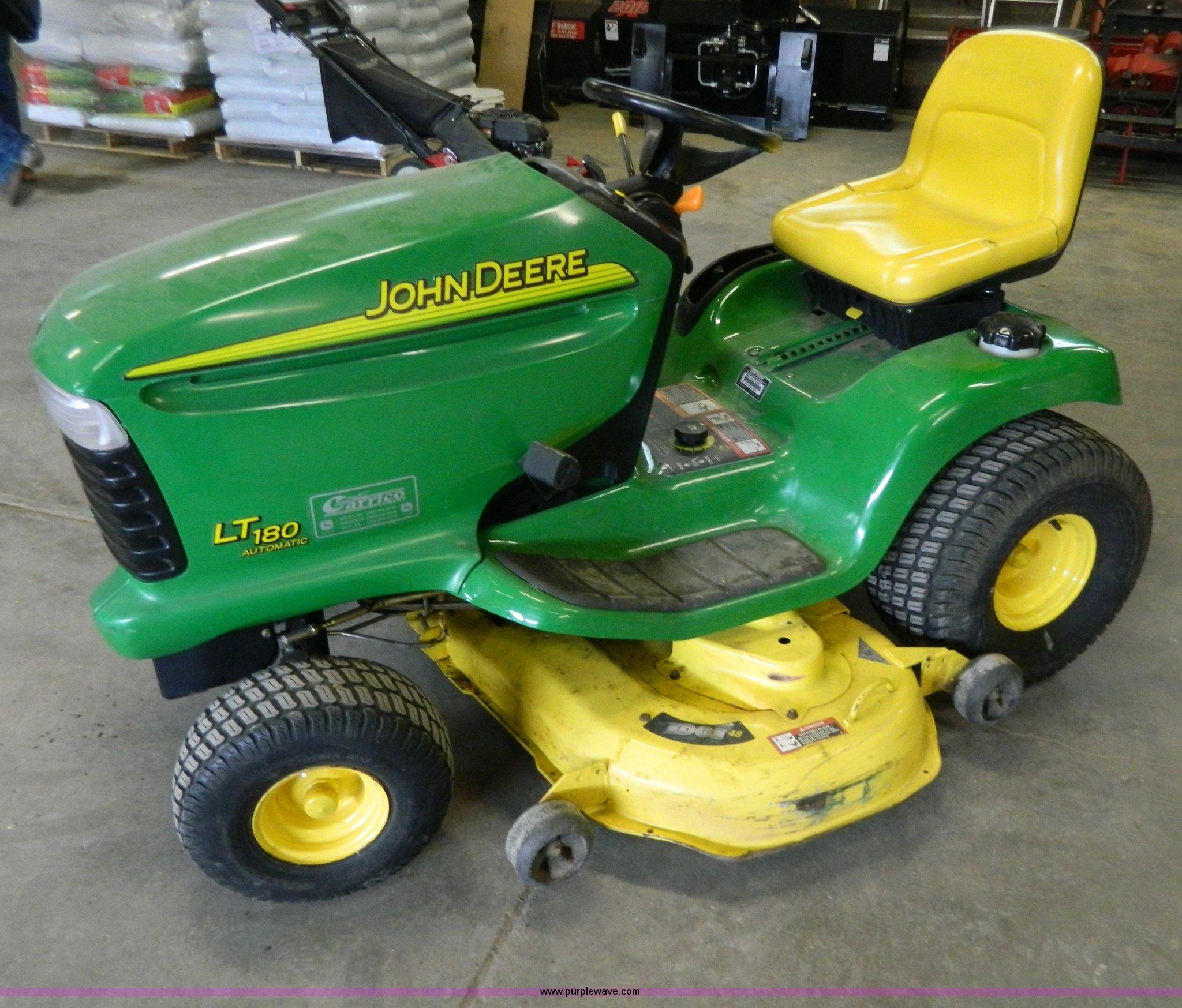 John Deere Lawn Tractors D120 : John deere lt lawn mower item w sold may