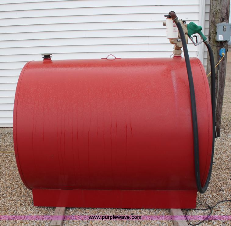 500 Gallon Fuel Tank >> 500 Gallon Fuel Tank With Gauge Item Aj9620 Sold May 8