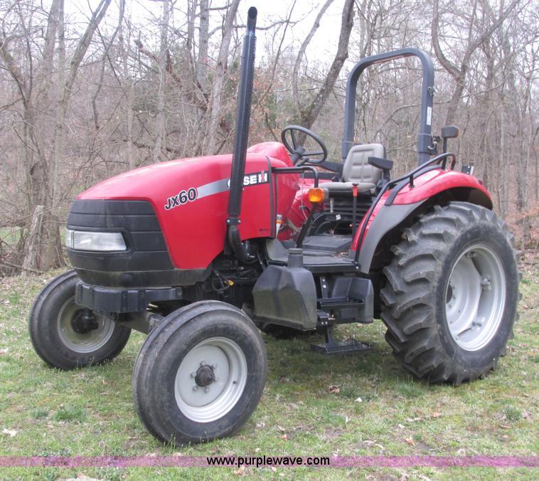 2008 case ih jx60 tractor item e7188 sold may 8 ag. Black Bedroom Furniture Sets. Home Design Ideas