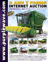 View May 8 H and T Farms Retirement Auction flyer