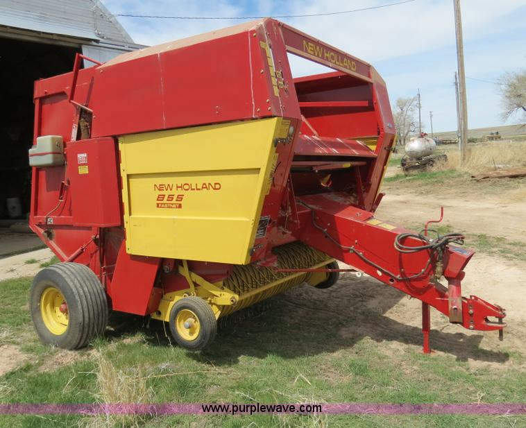 1991 New Holland 855 Fastnet round baler | Item B4725 | SOLD