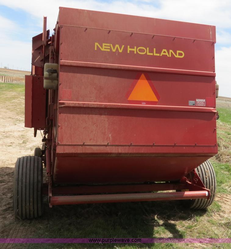 1991 New Holland 855 Fastnet round baler | Item B4725 | SOLD