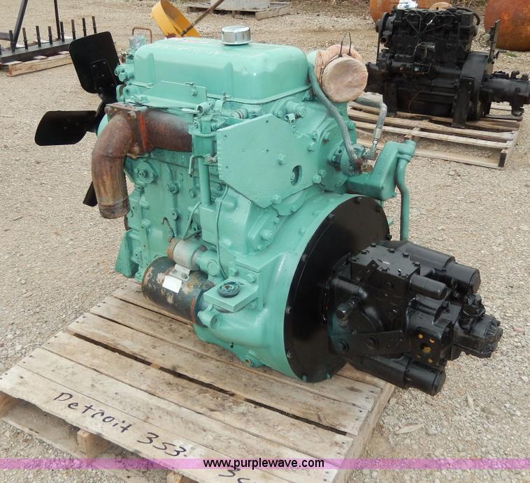 Detroit 353 three cylinder diesel engine | Item W9936 | SOLD
