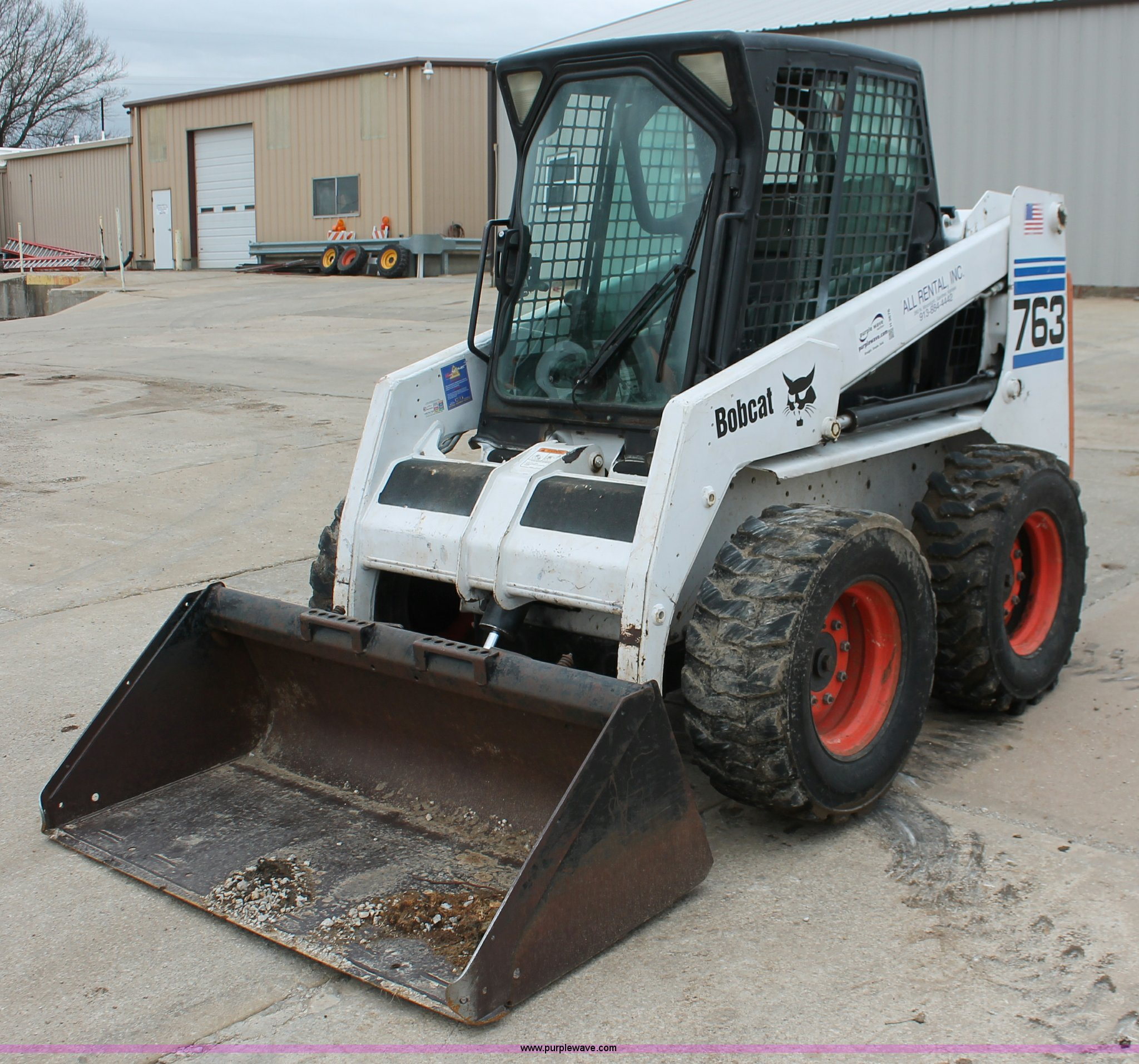 2002 Bobcat 763 Skid Steer Item H3676 Sold May 9 Constr