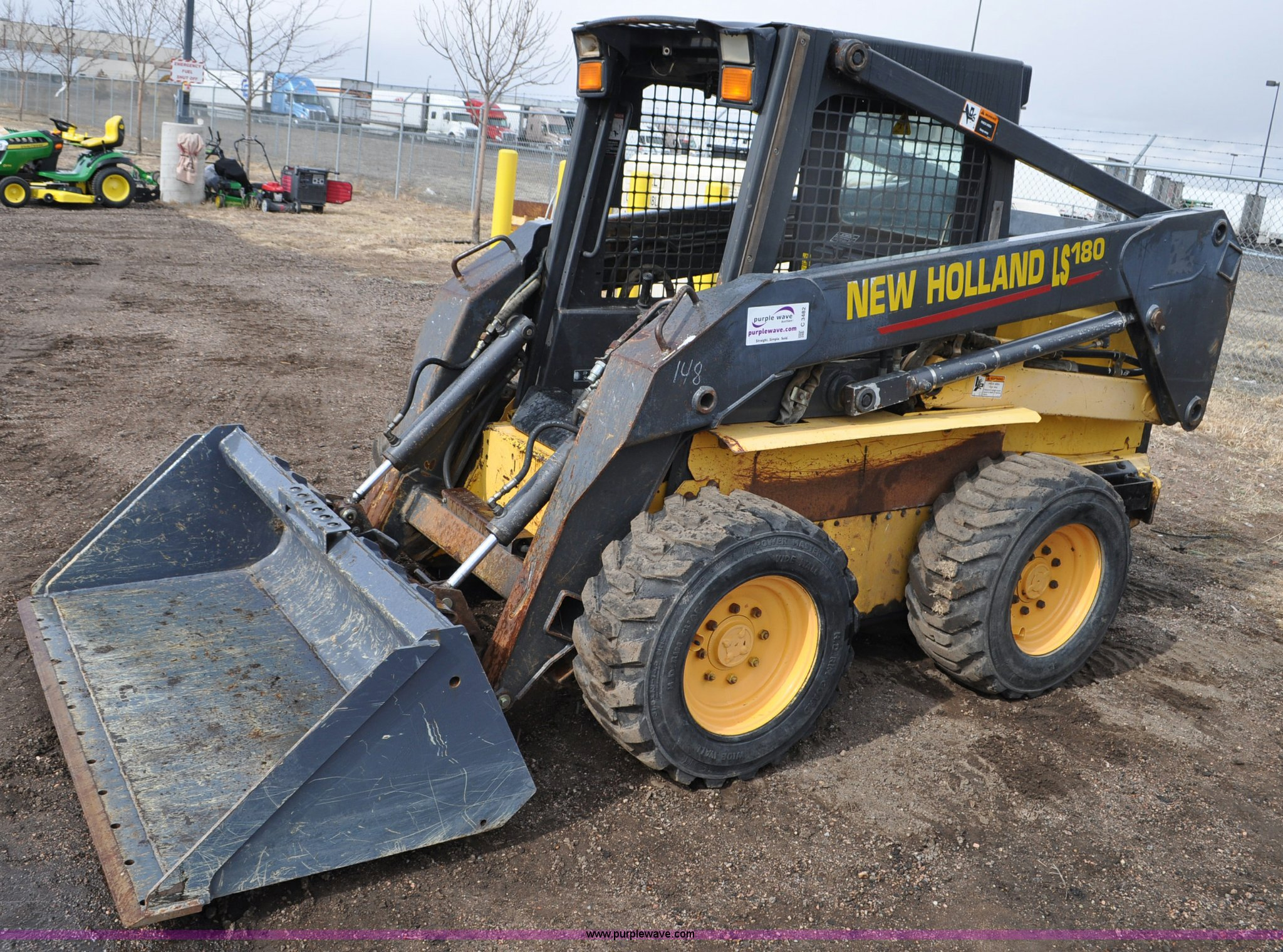 2003 New Holland Ls180 Skid Steer Item C3482 Sold May 1