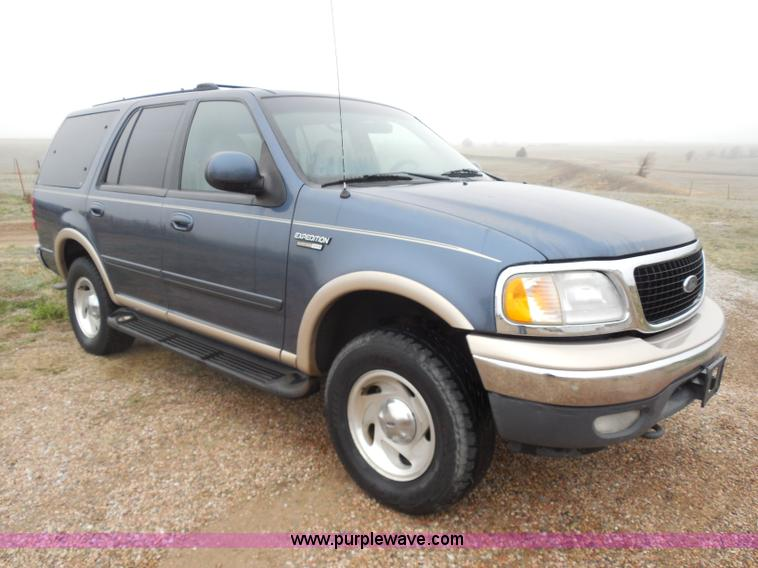 1999 ford expedition eddie bauer suv in dighton ks item ad9482 sold purple wave purple wave