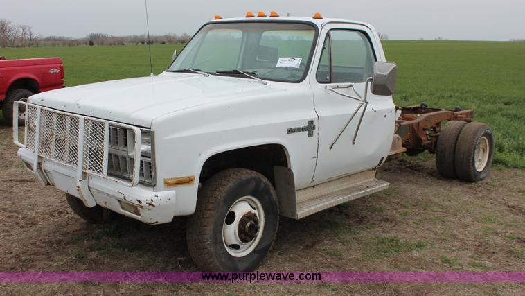 1981 Chevrolet C30 Custom Deluxe Cab And Chassis No