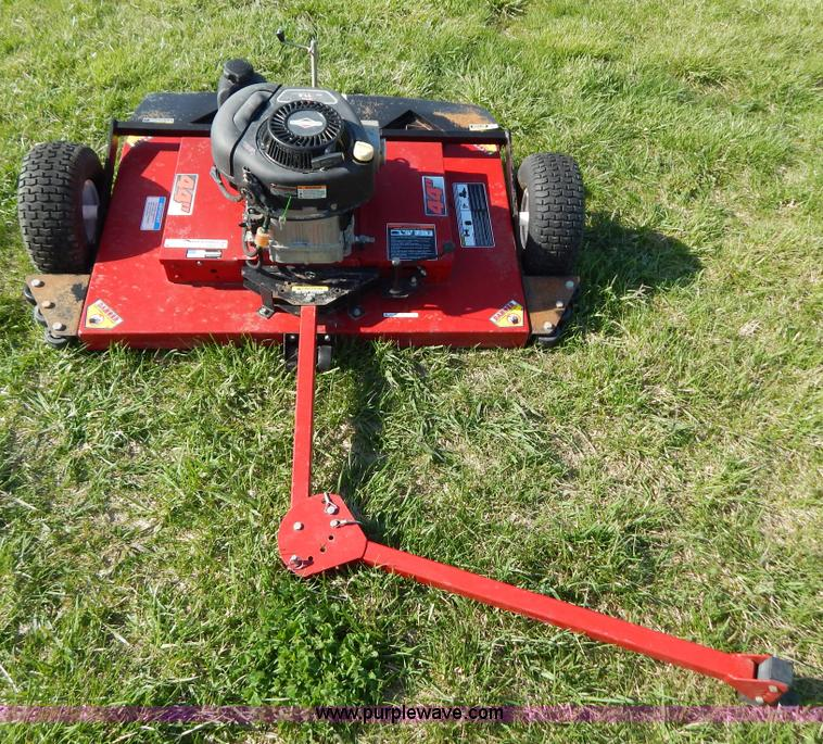 Swisher T11544 pull behind mower   Item Z9483   SOLD! May 15
