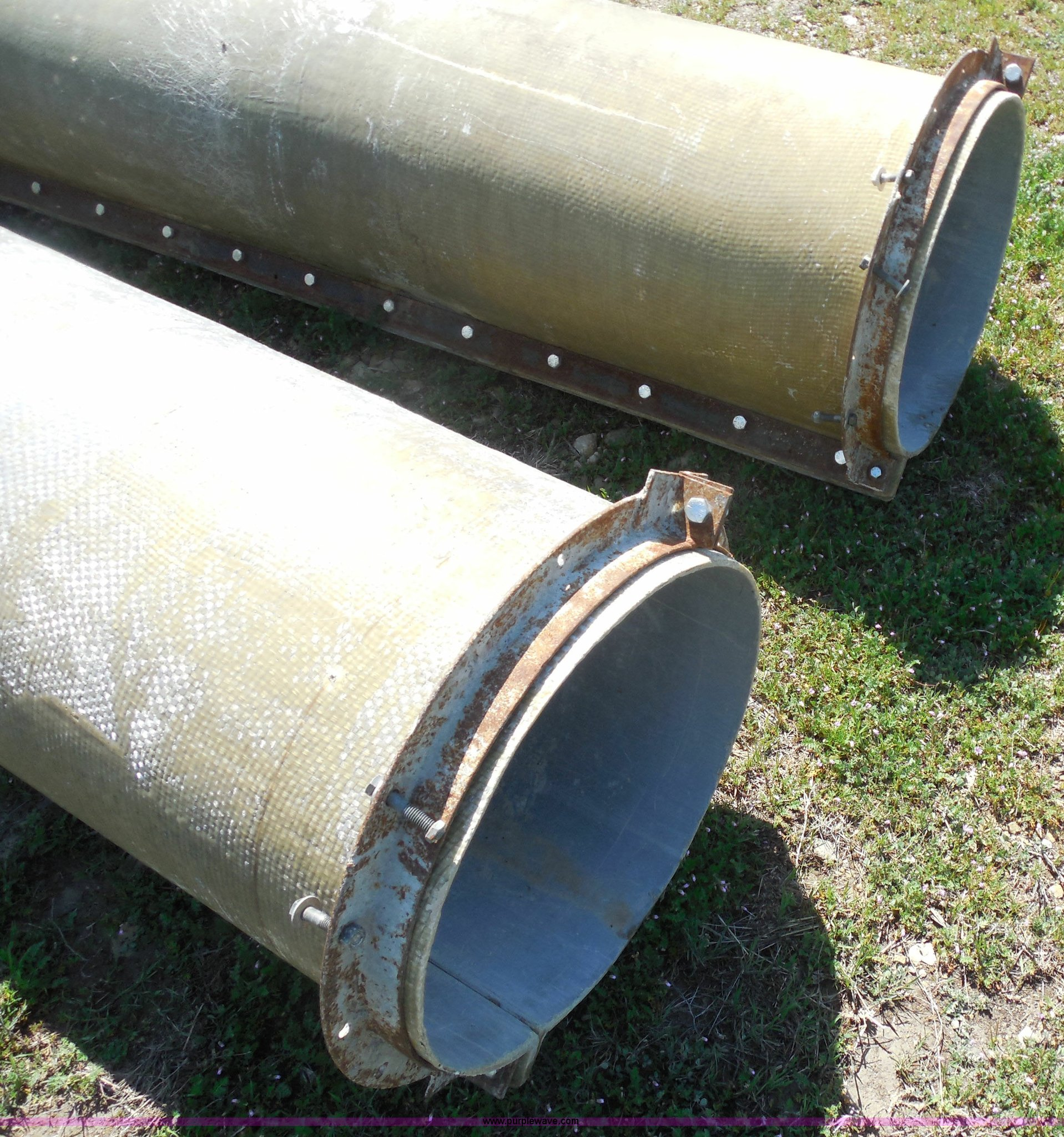 4) fiberglass cement column forms | Item H3242 | SOLD! May