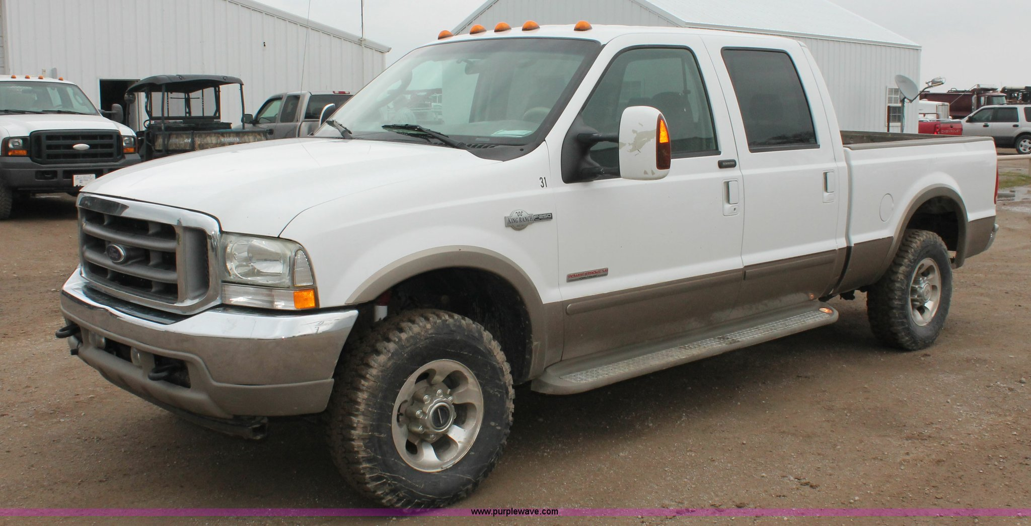 2004 Ford F250 King Ranch Crew Cab pickup truck