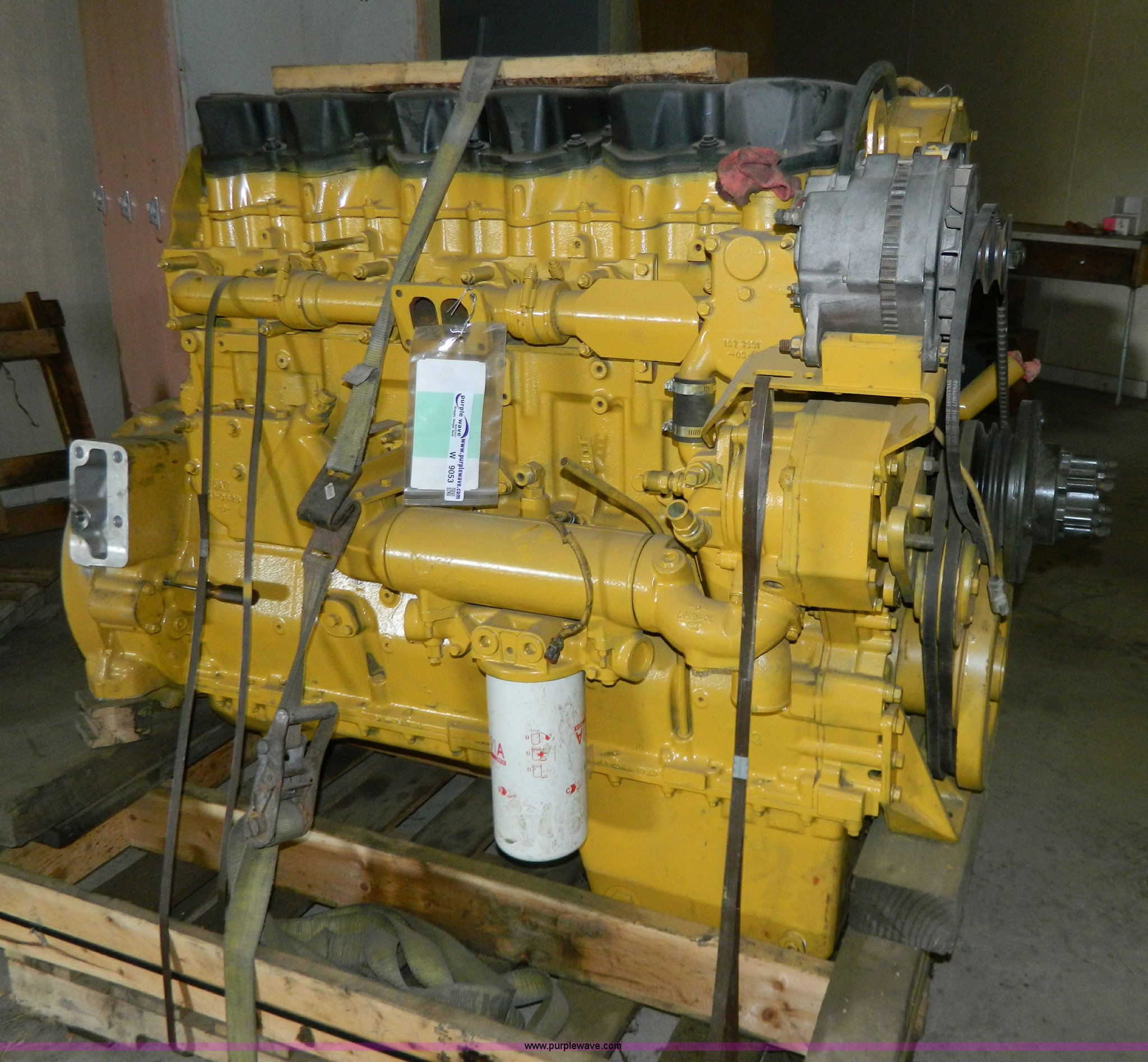 Caterpillar 3406e Engine Item W9053 Sold May 15 Midwest Wiring For Full Size In New Window