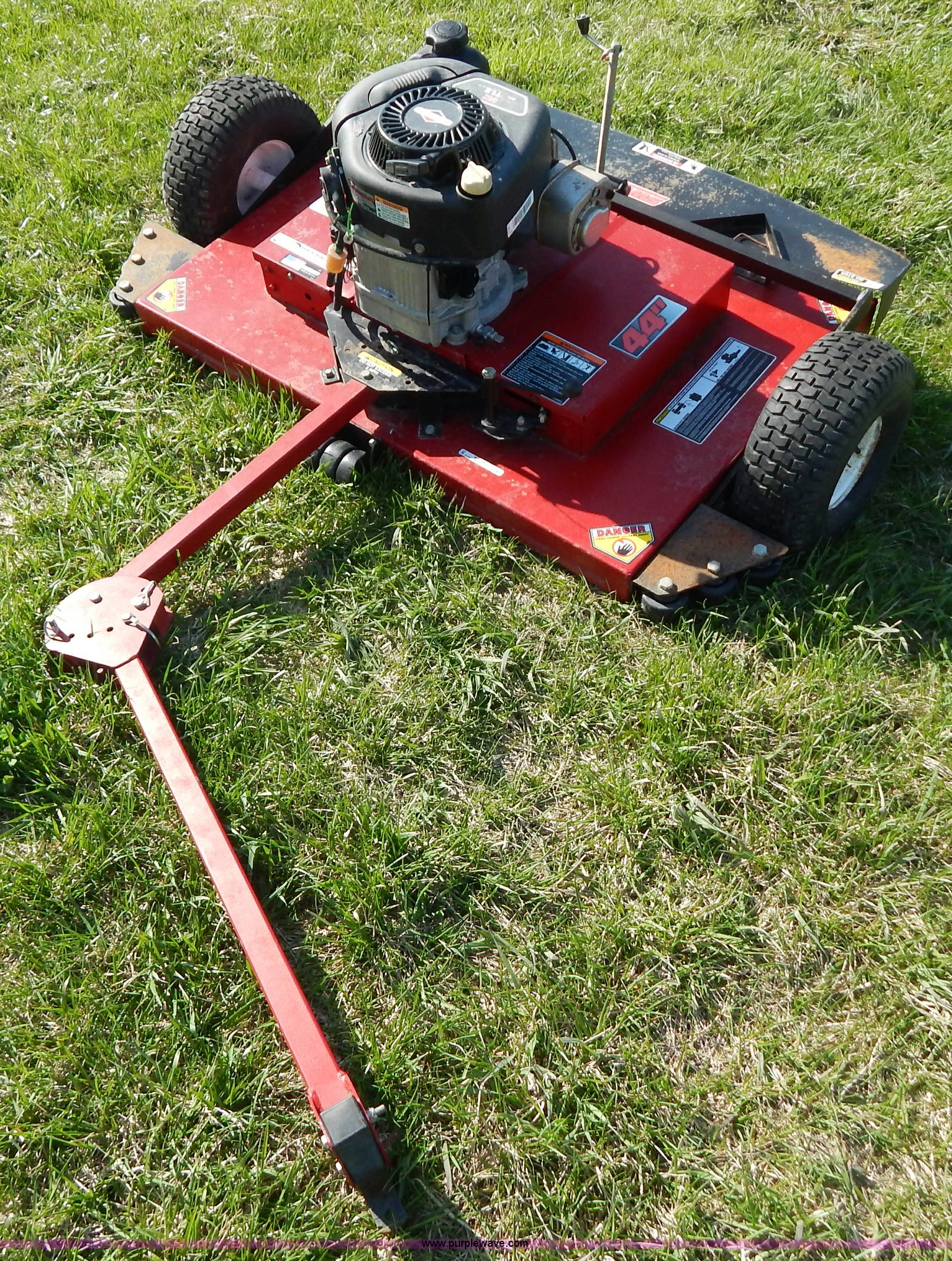 Swisher T11544 pull behind mower | Item Z9483 | SOLD! May 15