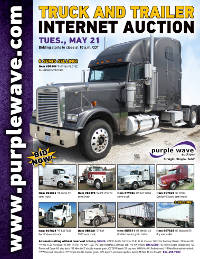 View May 21 Truck and Trailer Auction flyer