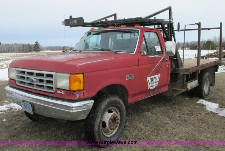 1991 ford f450 super duty service truck no reserve auction on wednesday may 22 2013. Black Bedroom Furniture Sets. Home Design Ideas