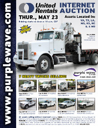 View May 23 United Rentals Auction flyer