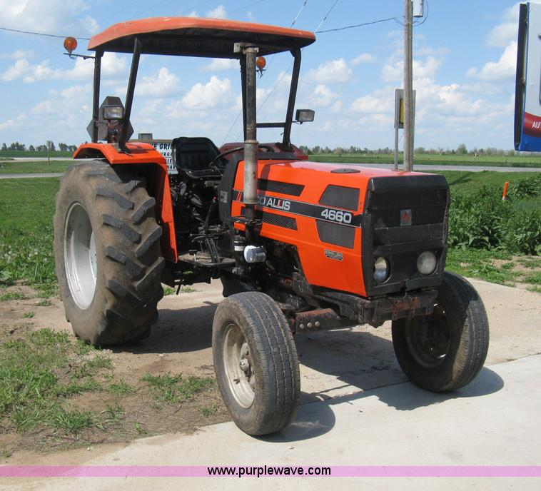 Agco Allis Tractors : Agco allis tractor item d selling at sold