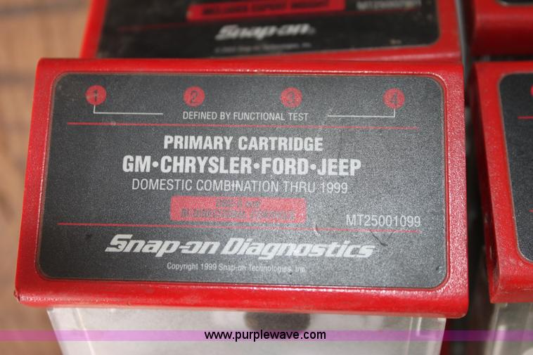 Snap-On MT2500 diagnostics scanner | Item AA9033 | SOLD! May