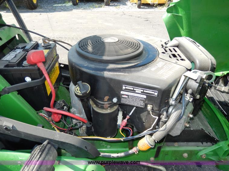 AA9928S john deere lt166 lawn mower item aa9928 sold! may 29 mid wiring diagram john deere lt155 at webbmarketing.co