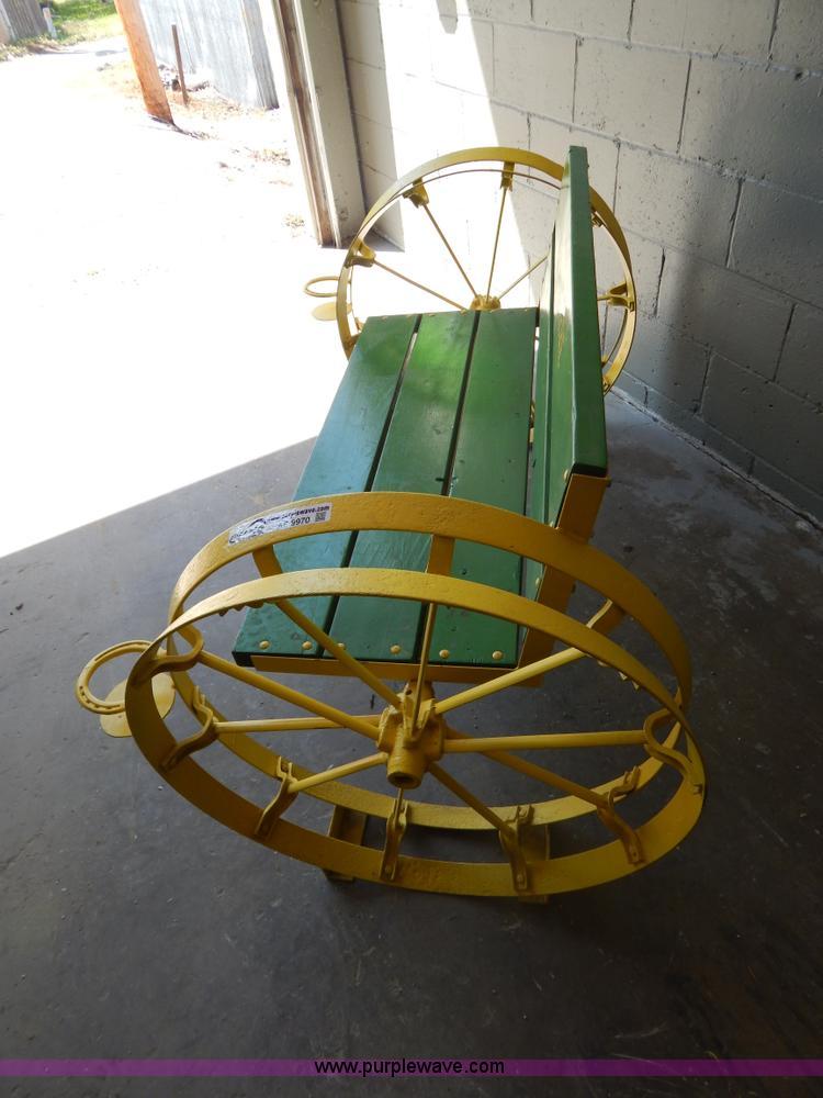 Shop Built John Deere Bench Item Ae9970 5 29 2013