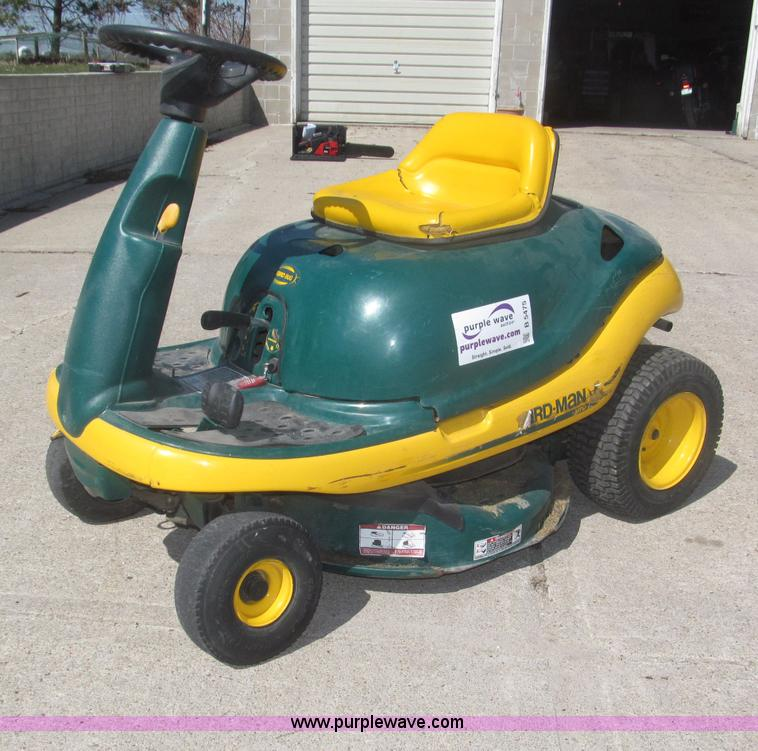 Mtd Yard Man Yardbug Lawn Mower Item B5475 Sold May