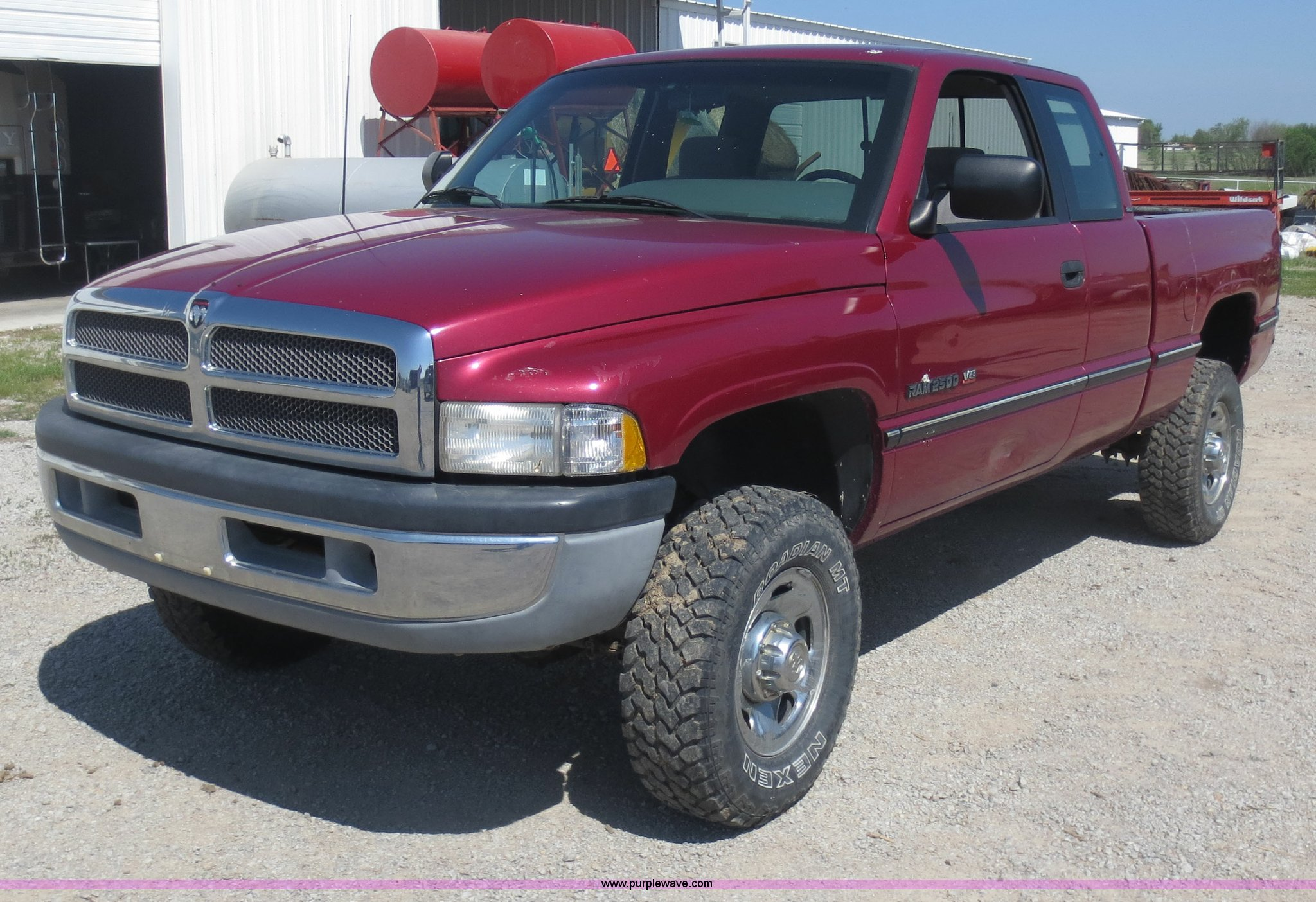 1996 Dodge Ram 2500 Club Cab pickup truck | Item D5838 | SOL