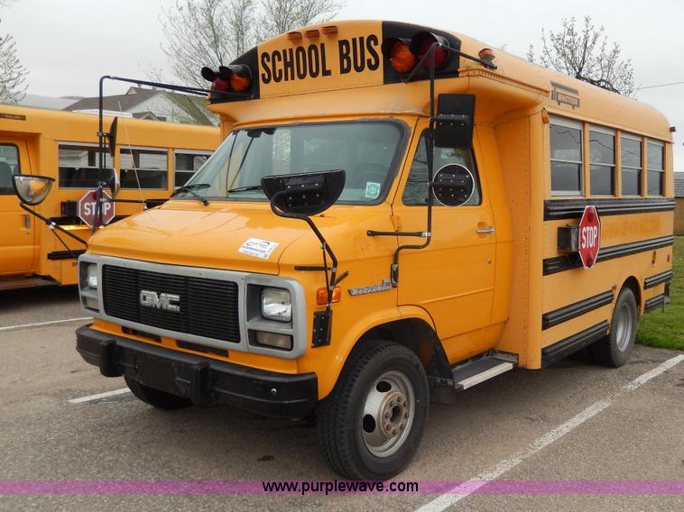 1994 GMC G3500 Vandura Thomas school bus | Item D8119 | SOLD