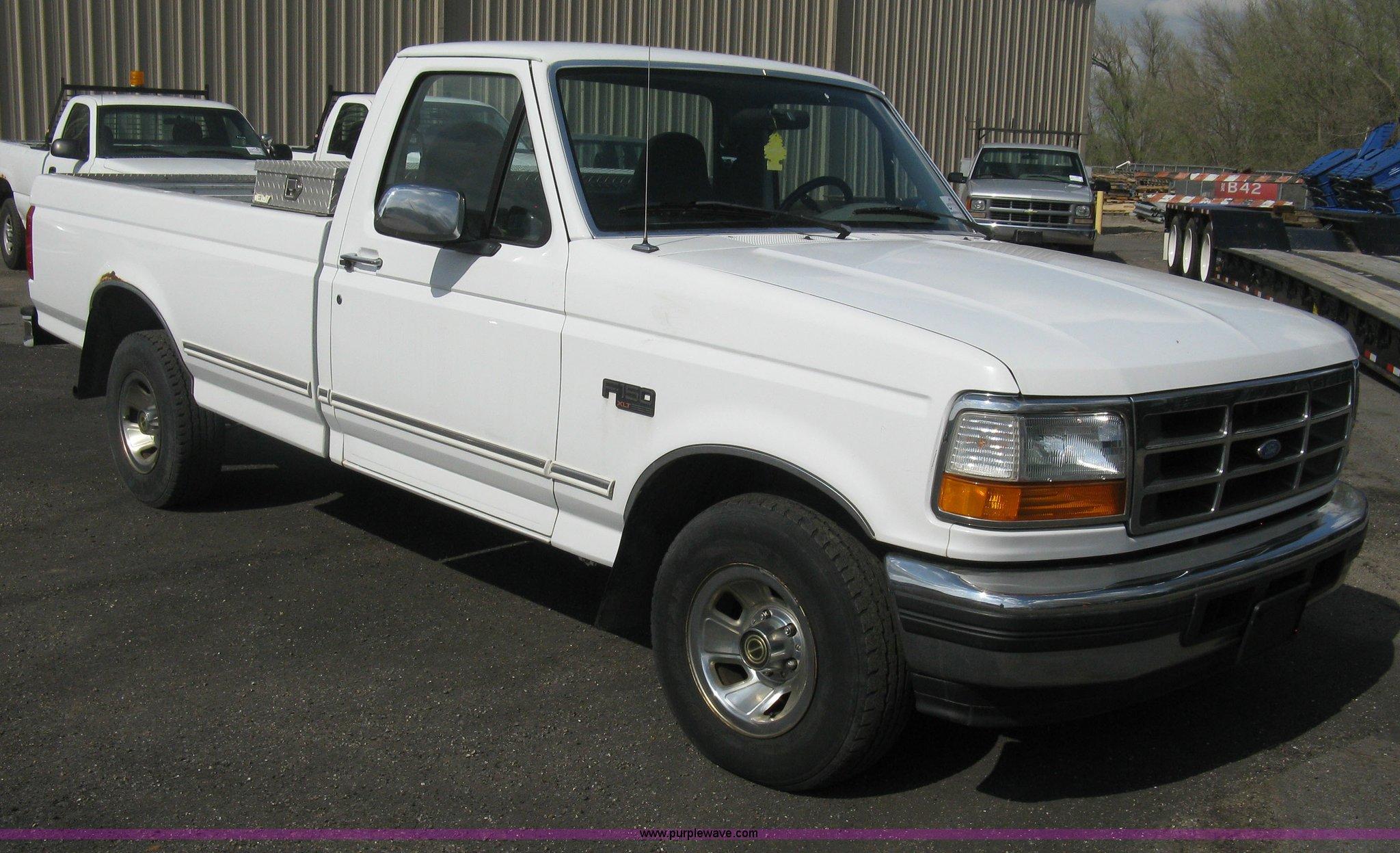E3476 image for item e3476 1996 ford f150