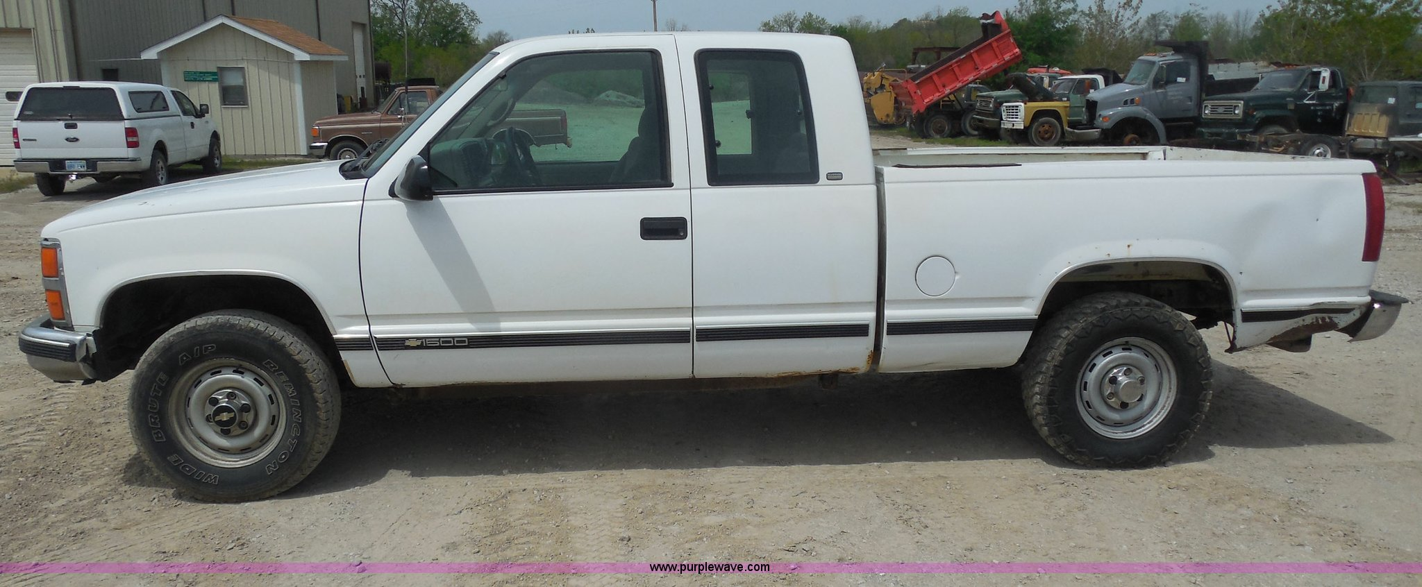 All Chevy 98 chevrolet 1500 : 1998 Chevrolet Silverado 1500 Extended Cab pickup truck | It...