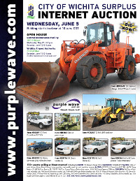 View June 5 City of Wichita Surplus Auction flyer