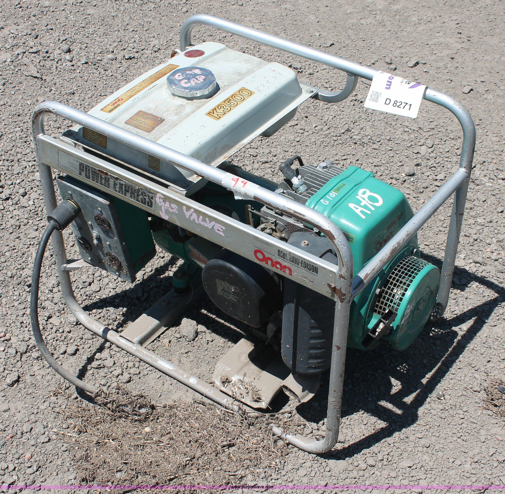 an K3500 Power Express generator Item D8271