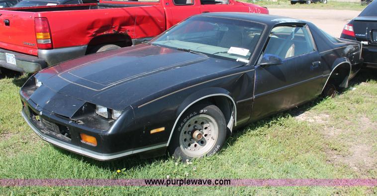 1986 Chevrolet Camaro | Item H3563 | SOLD! June 11 City of W