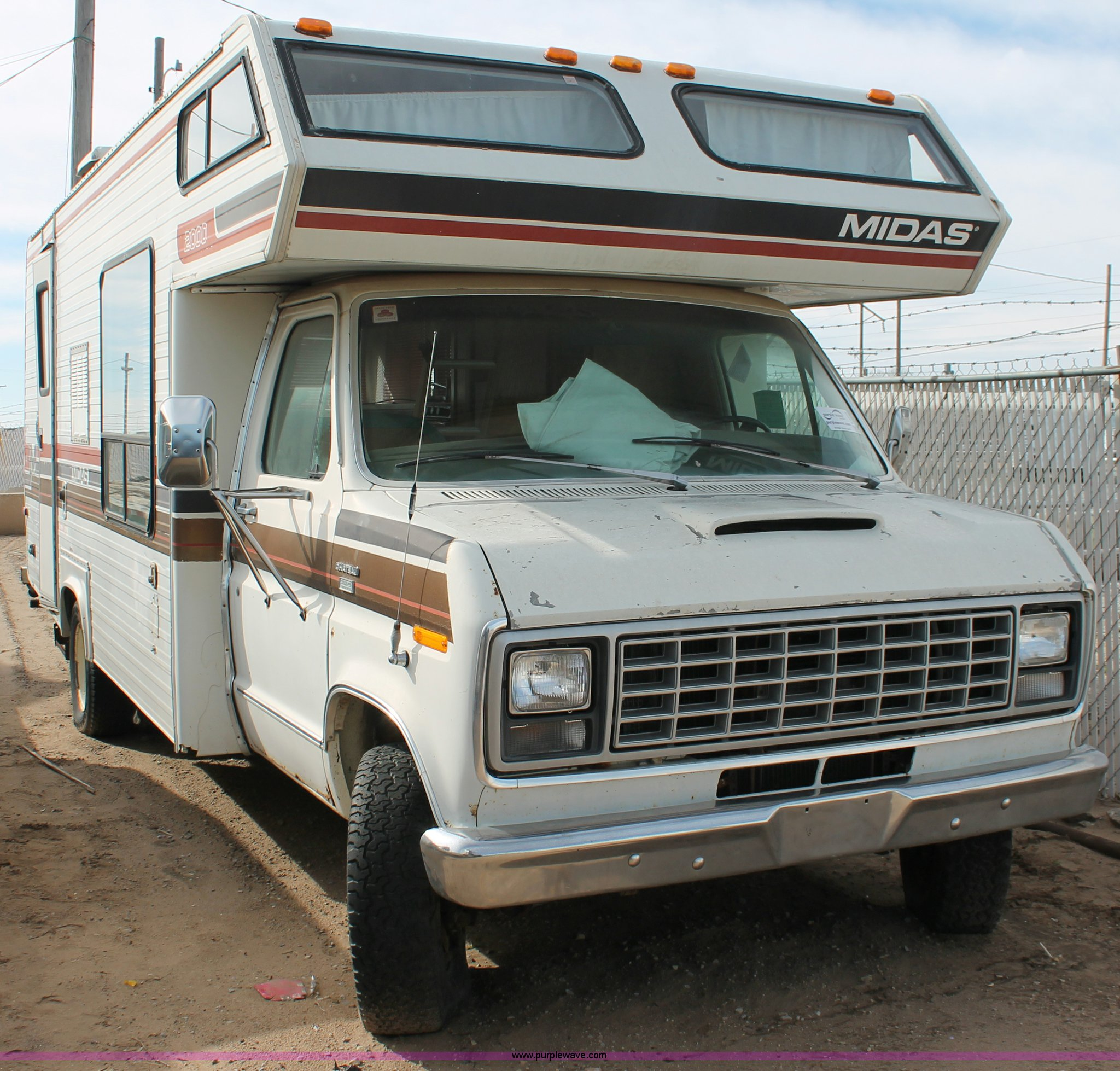 1979 Ford Midas 2000 Chateau Camper Special Motorhome In