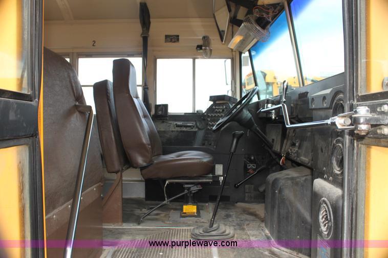 1996 international 3800 blue bird school bus item e8489 rh purplewave com manual transmission school bus for sale IC Ce School Bus Inside