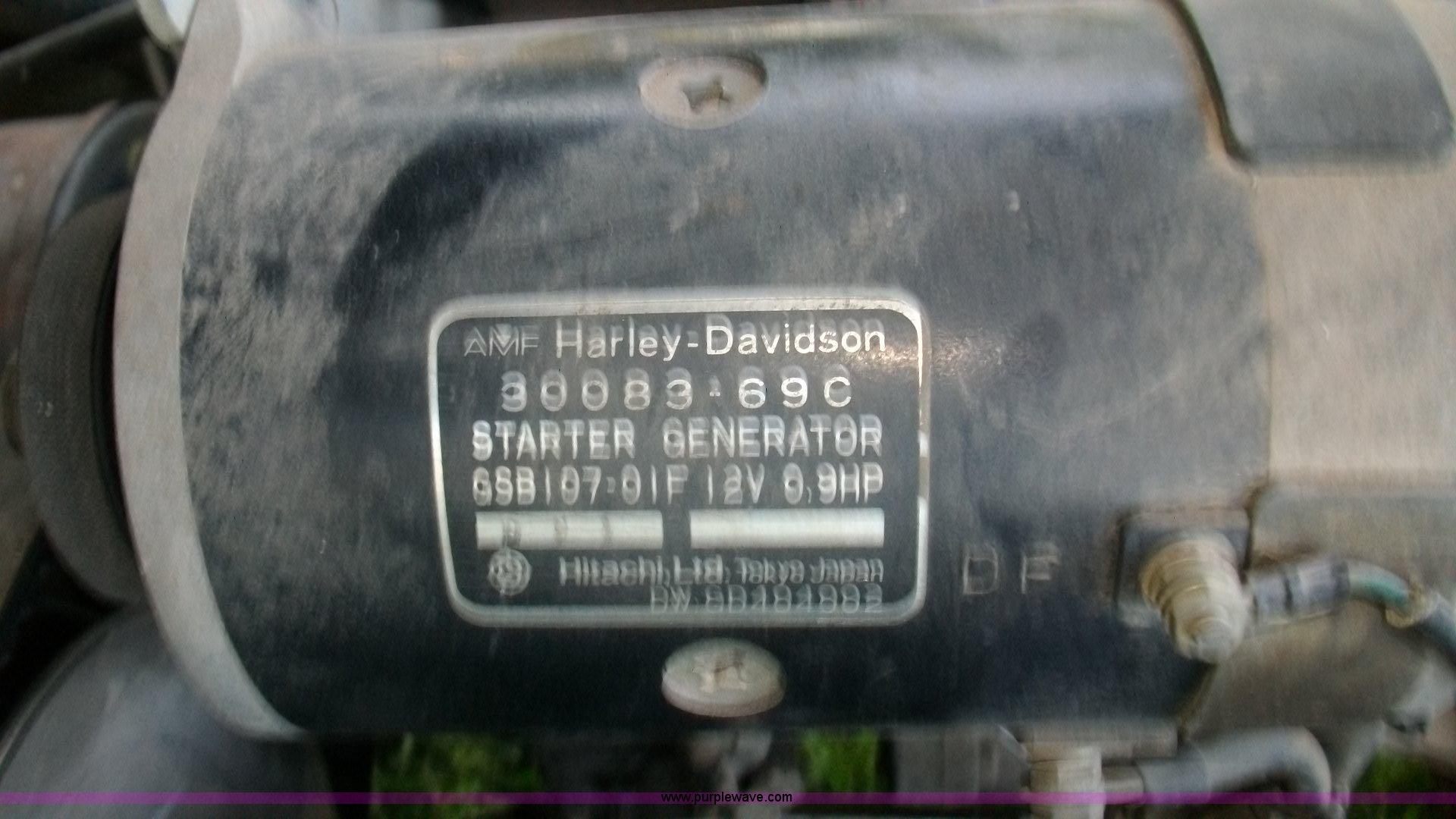 1982 Harley Davidson Golf Cart