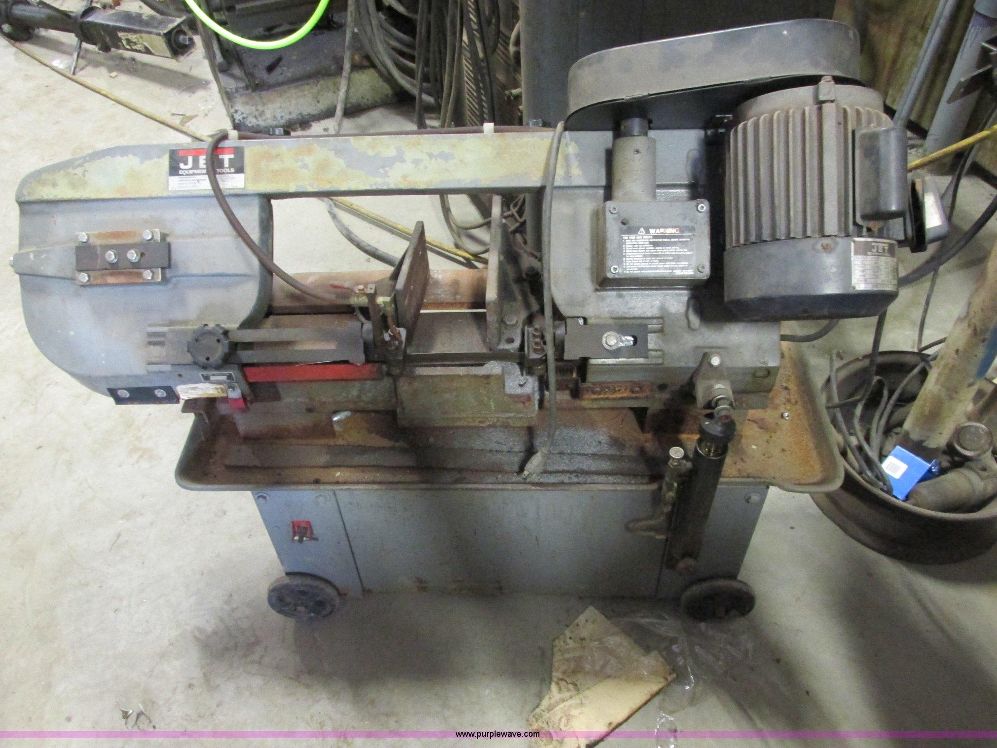 Jet Hvbs 7m Bandsaw Item E7247 Sold June 12 Midwest Veh