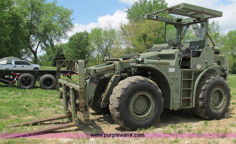 Pettibone Rough Terrain military forklift | Item F5063 | SOL