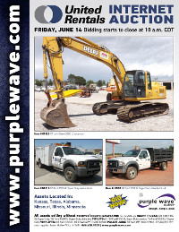 View June 14 United Rentals Auction flyer