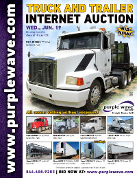 View June 19 Truck and Trailer Auction flyer