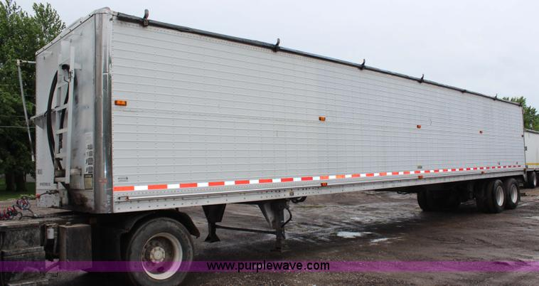 G5209 Image For Item G5209 1999 Wilson Pace Setter With Keith Walking Floor  Unloading System