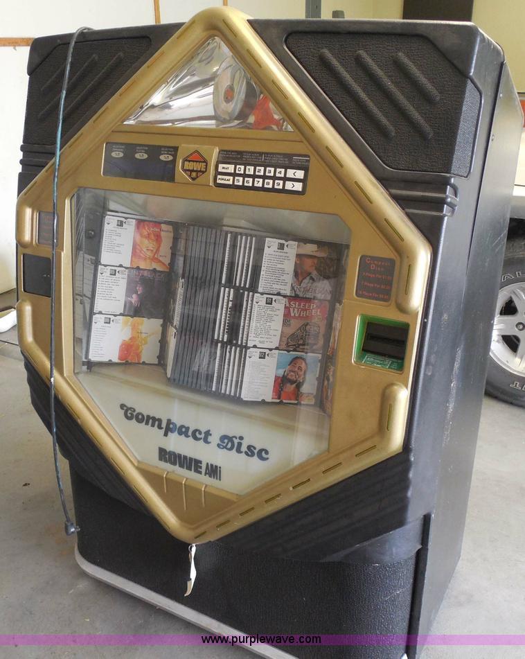 Rowe AMI CD-100E juke box | Item H3142 | SOLD! Rick's Lumber