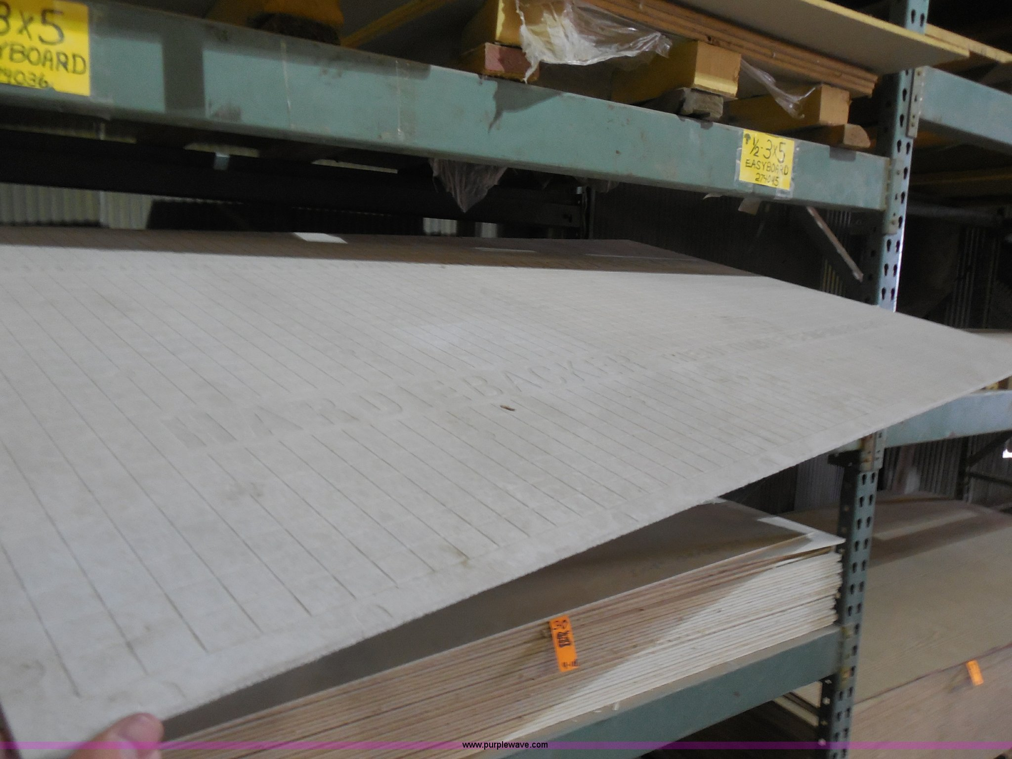 Assorted Cementbased Backer Board Item H SOLD Rick - Cement based backer board