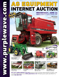 View June 26 Ag Equipment Auction flyer